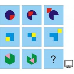 Test IQ (niebieski)